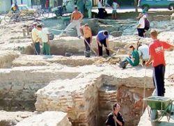 У Сиријуму нађене фреске и римски новчићи