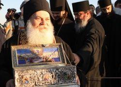 Архимандрит Јефрем одведен са Свете Горе у затвор