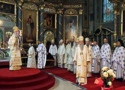 Саборном Литургијом започео са радом Свети Архијерејски Сабор Српске Православне Цркве