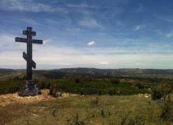 У Шпанији подигнут крст у част руских добровољаца