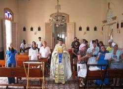 У западној провинцији Кубе први пут служена православна литургија