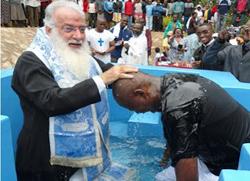 Син премијера Кеније примио Православље