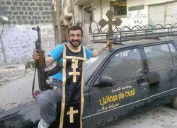 Сиријски побуњеници скрнаве хришћанске светиње