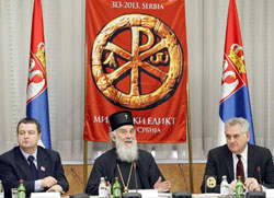 Васељенски патријарх октобра у Србији