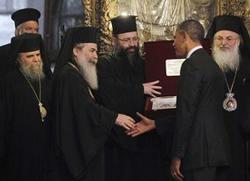 Барак Обама посјетио храм Христовог Рођења у Витлејему