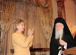Хилари Клинтон упутила писмо Патријарху Вартоломеју