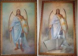 Летонија: У православном храму извршен вандалски акт