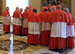 Почео састанак кардинала