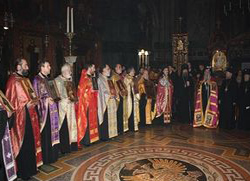 Свеправославна вечерња у Лондону