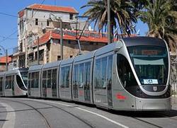 Трамвајска линија преко територије манастира у Јерусалиму
