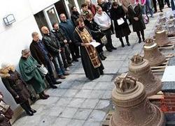 У Мадриду освештана звона за храм свете Марије Магдалине