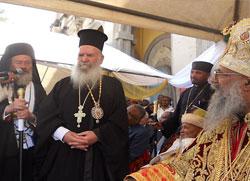 Устоличење Патријарха етиопског