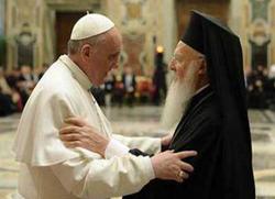 Васељенски патријарх позвао папу у посјету