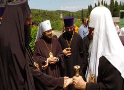 Поглавар Руске Православне Цркве посетио манастир Хиландар