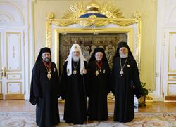 Руски Патријарх Кирил примио делегацију Антиохијске Цркве