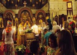 У Кану служена литургија у част 400-годишњице Дома Романових