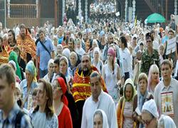 Више од 40 000 вјерних у Јекатеринбургу прославило празник Царских мученика
