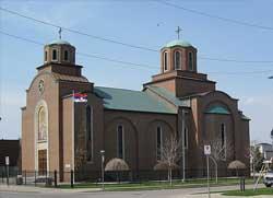 Хамилтон - парохија век стара