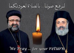 Нада да су отети сиријски епископи - живи!