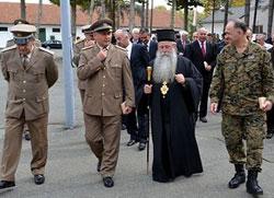 Владика Хризостом посетио бјељинску касарну
