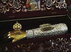 Рука св. Димитрија стиже у Луганск