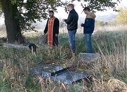 Скрнављење Српског гробља у Ораховцу
