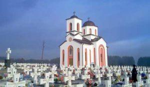 Капела на гробљу