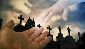 У гробљанској капели