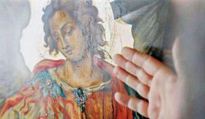 Промироточила икона Св. архангела Михаила