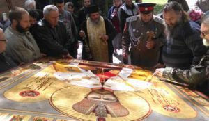 Промироточиле иконе у манастиру Св. Архангела Гаврила код Сврљига