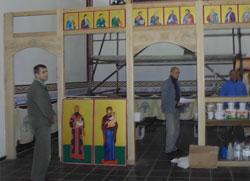 Осуђеници у Нишу граде цркву