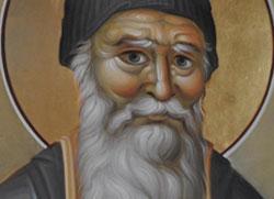 Прва фреска Старца Порфирија