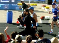 Војни свештеник истрчао маратон