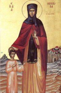 Света преподобна Теодора