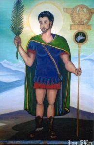 Свети свештеномученик Маврикије и с њим 70 мученика