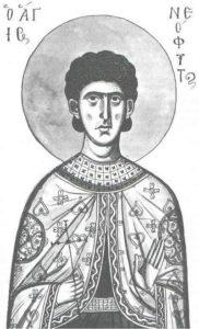 Свети преподобни Неофит ватопедски
