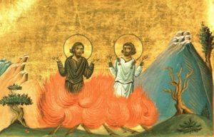Свети мученици Максим, Теодот и Исахије и света мученица Асклипиодота