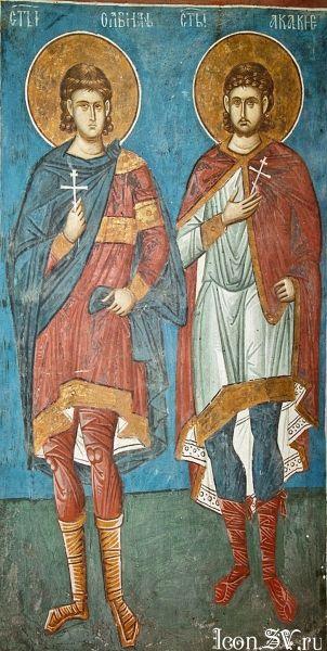 Свети мученик Акакије