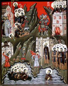 Свети преподобномученици монаси Иверити