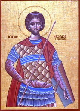 Свети преподобномученик Николај Нови