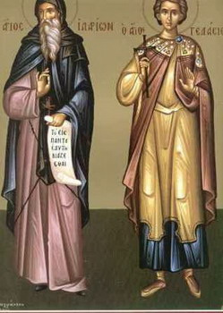 Свети преподобни Иларион Нови