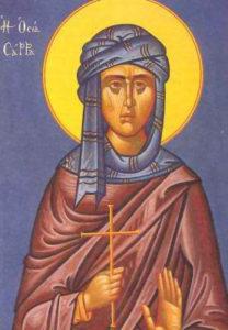 Света преподобна Сара Мисирска