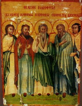 Свети мученици и подвижници који из Палестине дођоше на Кипар