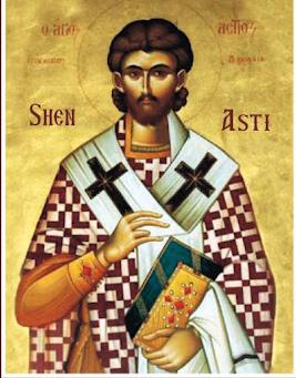 Свети свештеномученик Астије, епископ дирахијски (драчки)