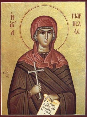 Света мученица Маркела