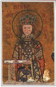 Света преподобна царица Ирина