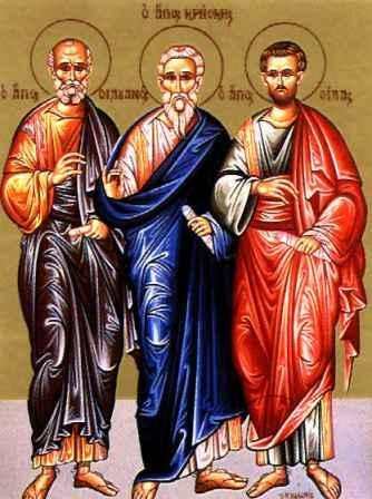 Свети апостоли Сила, Силуан, Крискент, Епенет и Андроник