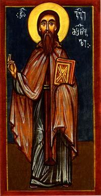 Свети Георгије атоски, градитељ
