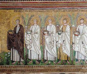 Свети мученици Конкордије, Иринеј и Авундије