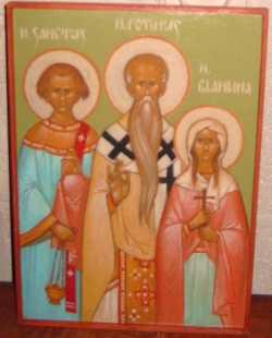 Свети мученици Сакт, Матур, Атал и Бландина